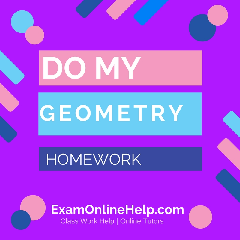 help on my geometry homework