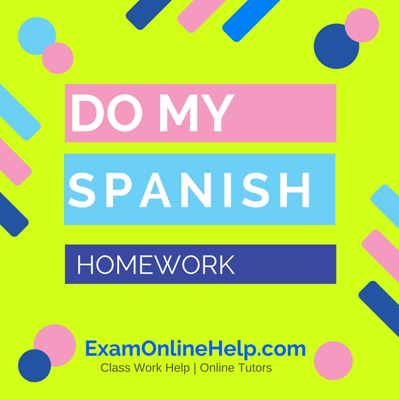Do my homework service