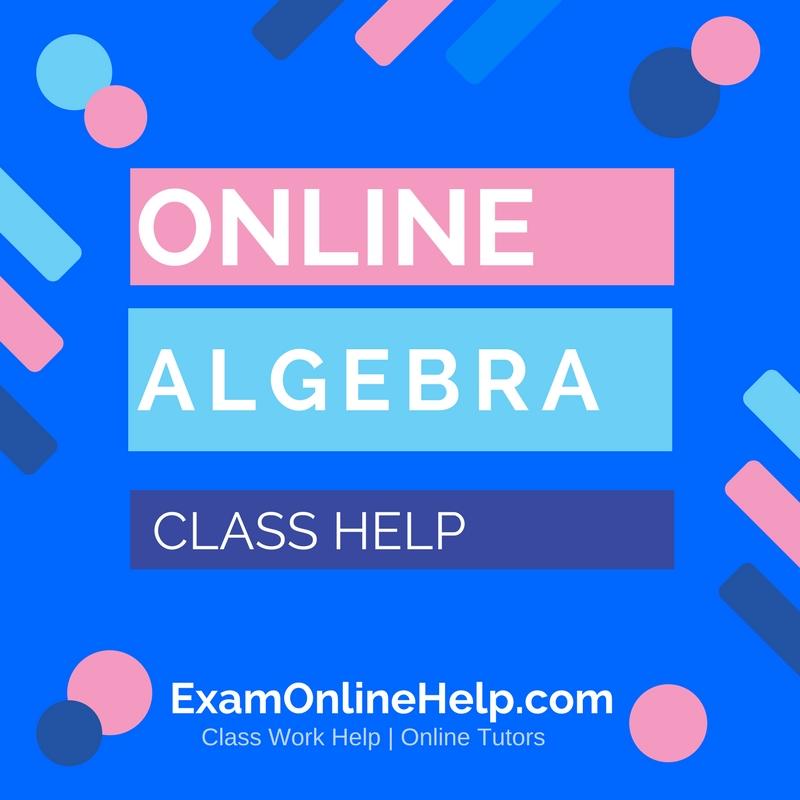 Help online class