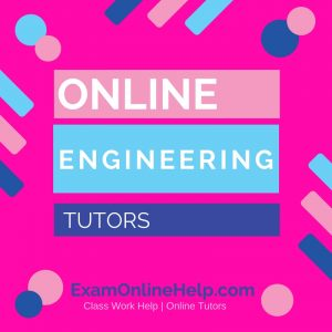 Online Engineering Tutors