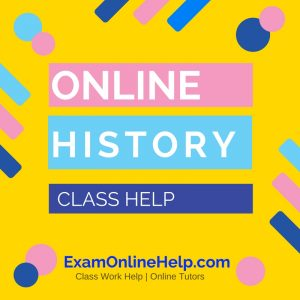 Online History Class Help
