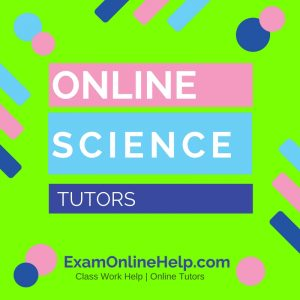 Online Science Tutors