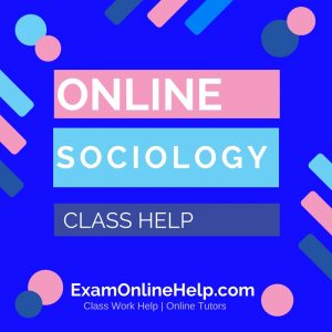 Online Sociology Class Help