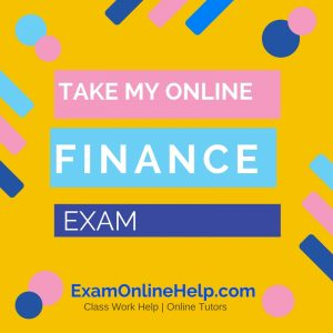 Take My Online Finance Exam