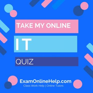 Take My Online Information Technology Quiz