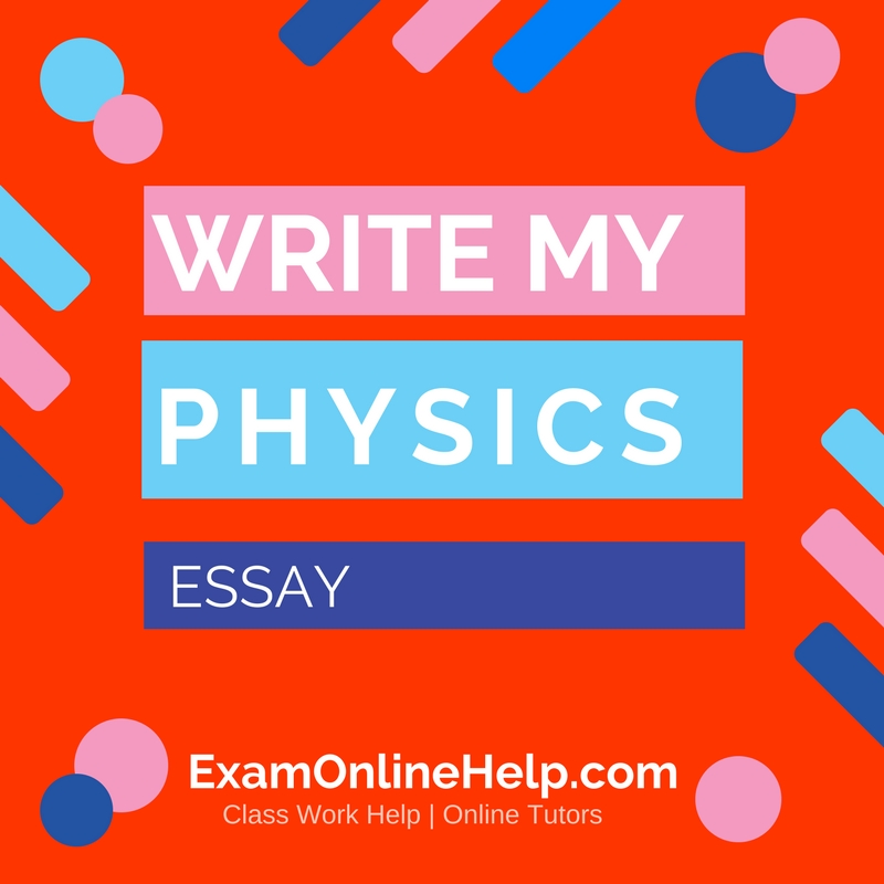 How can i write a paper in physics