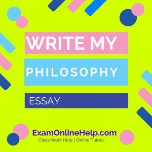 Write My Psychology Essay